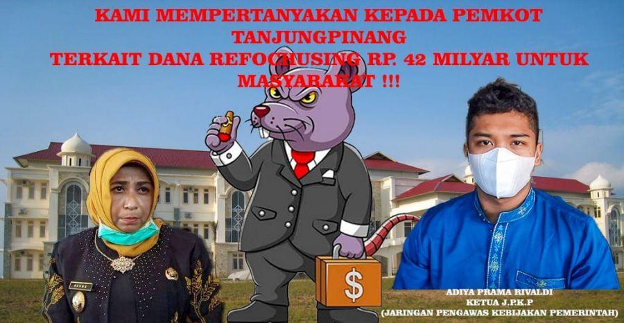 JPKP Minta BPK Audit Pemko Tanjungpinang