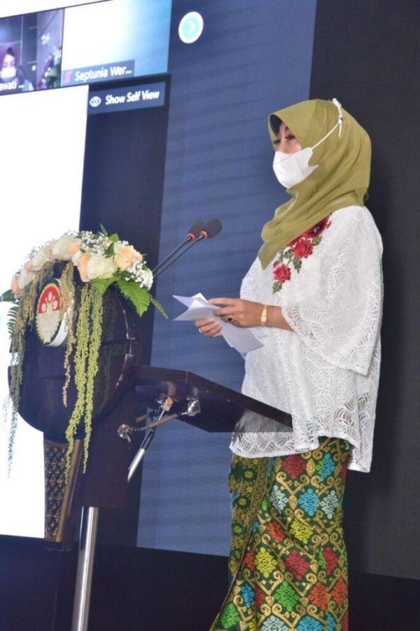 Ketua DWP Kemhan: Hobi yang Ditekuni Jadi Ladang Usaha Menambah Income Keluarga