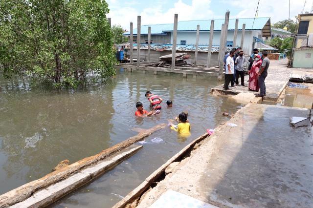 Pelantar Rubuh, Rahma : Tidak Perlu Menunggu Musrenbang, Besok Kita Perbaiki