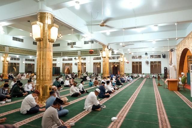 Pemko Tanjungpinang Gelar Peringatan Isra Mi'raj di Masjid Agung Al Hikmah