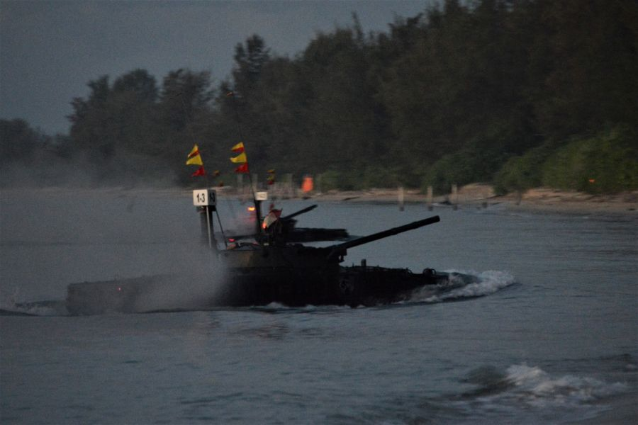 Perang Sengit, Pasrat Korps Marinir Rebut Pantai Todak Dabo Singkep dalam Operasi Amfibi TNI AL 2021