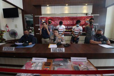 2 Pelaku Curas Ditangkap Unit Jatanras Polda Kepri