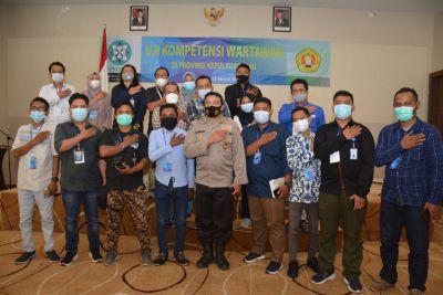 Kabid Humas Polda Kepri Jadi Narasumber UKW Yang Diselanggarakan UPN Veteran Yogyakarta