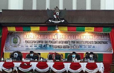 Nasrul PAW Anggota DPRD Tanjungpinang Fraksi PKS Hari ini Dilantik